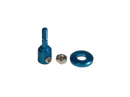 arkai Alu Spinner BLAU 2 mm Welle Profiversion