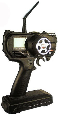 arkai 2.4 Ghz Pistolengriff LCD