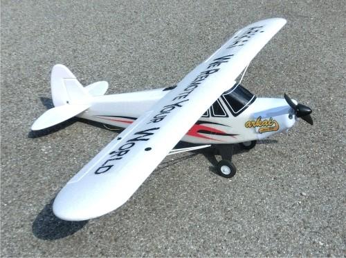 Piper Super Cup m. BL-Motor, Regler & Servos