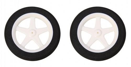 2 STK. SUPERLEICHTreifen 76 mm Durchmesser für Radnaben ab 2 mm