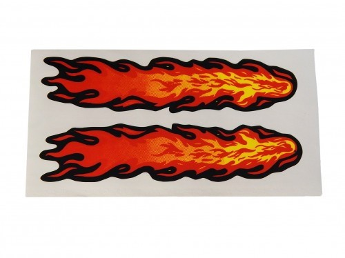 Aufkleber / Decal Flames Small 80*40mm 2 Stk.