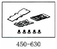 unterer Hilfsrahmen Geeignet für ALLE 450er wie T-Rex & Co