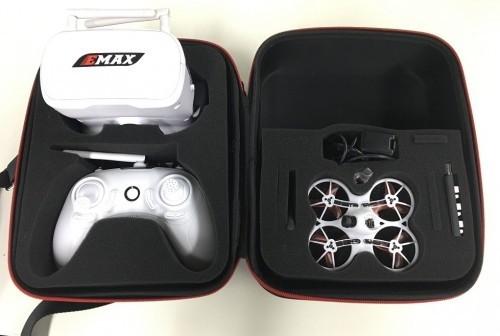 RTF arkai/E-Max Tiny Hawk MIT FPV Brille 75 mm