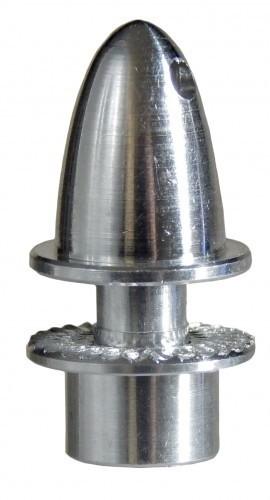 Aluminiumspinner 3 mm mit Klemmkonus