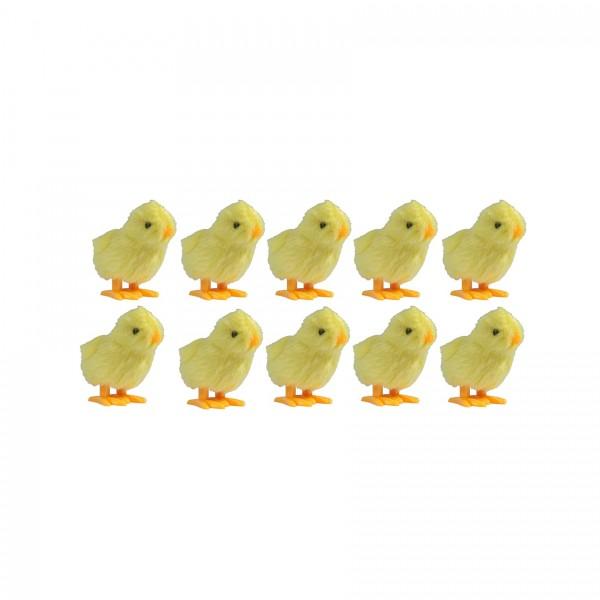 Hüpfküken 10er Set - Das gelbe vom Ei... hüpft und hüpft und hüpft... DER Hingucker - DIE Überraschu
