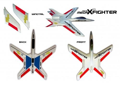 arkai Mega X Fighter - 710 mm