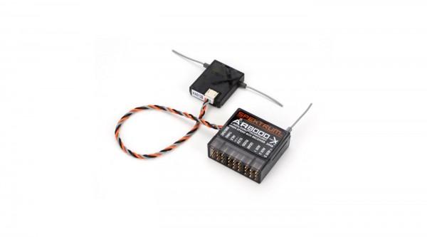 Spektrum AR8000, DSM2/DSMX-Satelliten-Empfänger, 8 Kanäle
