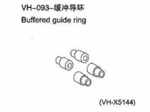 Buffered guide ring FÜR ALLE 1:10er RC Cars