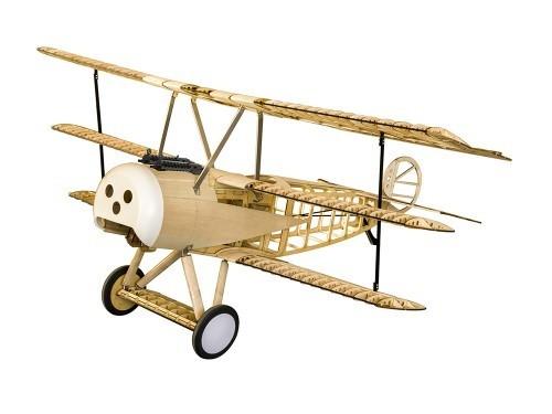 Fokker DR1, 1540mm, Dreidecker in Holzbox