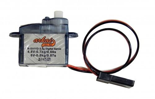 Micro Sub Servo 2,5 g Digital