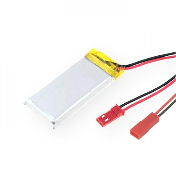 450mAh 1S LiPo mit JST & GEGENstecker GRATIS für Micromodelle