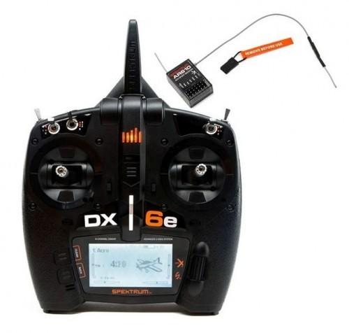 Spektrum DX6e 6-Kanal Fernsteuerung mit AR610 Empf.