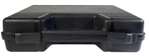 Koffer mit Inlay (Eierbecher) 34 x 30 x 8,5 cm