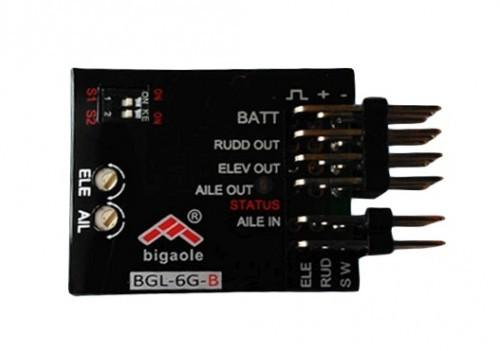 BGL 6G-B, Flächengyro