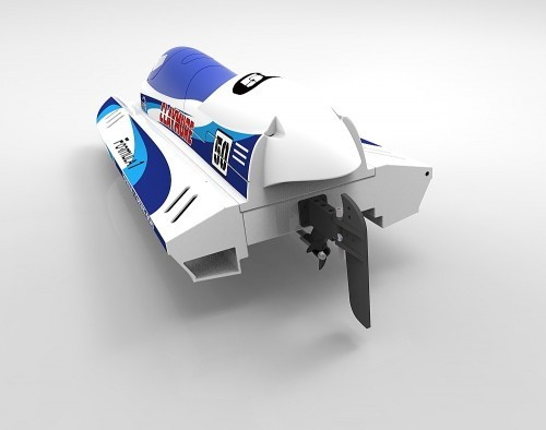 PNP Speedboot Claymore Blau/Weiß