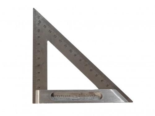SOLIDES METALL Winkel - Lineal 150 mm DREIECK