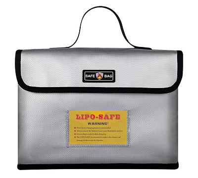 Lipo Guard Box, 26x18x6,5cm, mit Trageschlaufe
