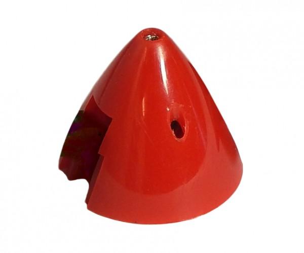 Klappluftspinner 33mm Durchmesser, Aufnahme wählbar, Rot.