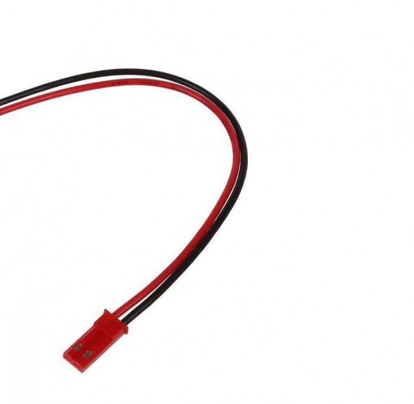 BEC-Stecker männlich MIT Kabel 8 cm