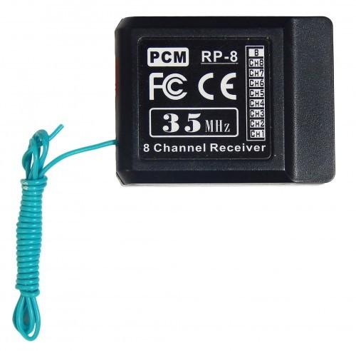 8 Kanal - 35 mhz-Empfänger- ALLE Fernsteuerungen