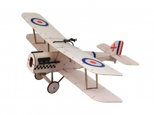 RAF SE5A KIT Balsa Microflieger f. RC-Ausbau